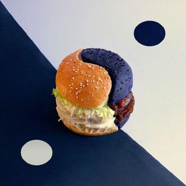 艺术家受够了!脑洞大开打造奇葩汉堡包图片
